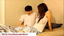 Brother seduces his sleepy sister while sleeping in bedroom taboo صورة