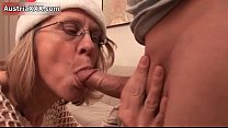 Nasty mature slut goes crazy sucking