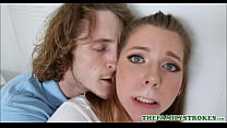 Young And Cute Teen Step Sister Seduces Older S...