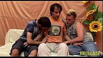 Horny homosexual guys in bareback act