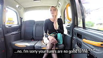 Blonde sucks long dick to fake taxi driver pornhub video