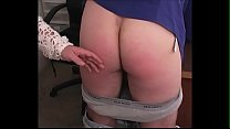 Spanking Roleplay - BBW swings the cane and spanks some guy - JustBangMe.com