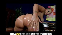 15738 Spandex clad Kelly Divine oils up her big-ass for anal preview