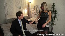 Young Courtesans - Dressed up Gina Gerson for a client teen porn preview image