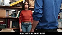 Shoplyter - Hot Teen (Tory Bellamy) Caught Stealing and Offered Cock