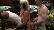 Kitchen Shenanigans with Milfs and BBC pornhub video