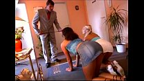 Two beautiful girls get spanked hard