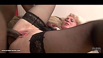Black Cock Craving for Granny in Hardcore Interracial porno ◦ (xxx hb) thumbnail
