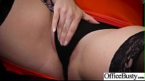 Hard Sex Tape In Office With Big Round Tits Sexy Girl (Lennox Luxe) video-19 Image