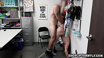 The handstand fuck with shoplyfter milf Crystal Taylor in this scene is just priceless! As a fact, the whole scene is great!