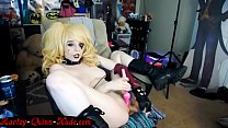 http://HarleyQuinnNude.com Harley Quinn Webcam with Vibrator and Dildo video