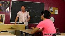 "Scott Shows Mr. Landon His ""Handiwork"""