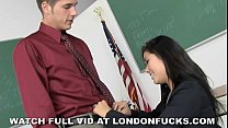Big Tit Asian London Keyes Fucked After Class