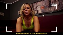 BUMS BESUCH - Hot German porn star Lilli Vanilli blows & fucks amateur guy in hotel room thumbnail