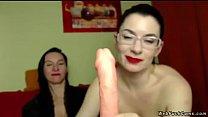 Milf lesbians flashing cunts on cam pornhub video