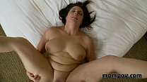 brunette milf fucks and sucks pornhub video