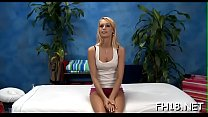These eighteen year old girls get drilled hard by their massage therapist! preview image