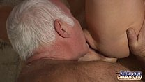 Horny Assistent fucked by old man in old young porn cumshot facial blowjob صورة