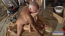 Horny Assistent fucked by old man in old young porn cumshot facial blowjob preview image