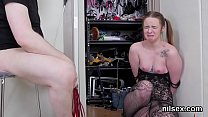 18474 Randy sweetie was brought in ass hole assylum for painful therapy preview