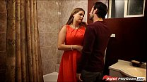 MILF Allison get pounded in the bathroom video
