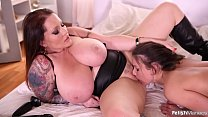 Anita B. Gets Dominated in Both Holes by Laura Orsolya