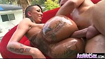 Anal Sex Tape With (bella bellz) Lusciuos Girl With Big Oiled Butt clip-05