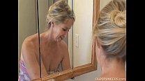 Download video bokep Gorgeous granny has a shower 3gp terbaru