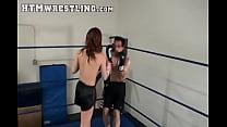 Sexy Sarah Brooke Boxing Beatdown