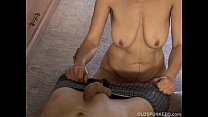 Skinny old spunker loves to suck cock and eat cum pornhub video