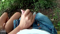 Hannah Sweet, Naturverbunden - wird durch Titus Schwanz geschunden  dp video