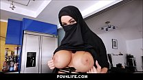 Busty Arabic teen violates her religion - Full Video: ceesty.com/wWGuuL preview image