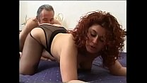 Curly with big titts love sperm