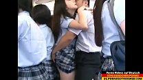 Japanese schoolgirl gets fucked