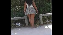 wife showing panties 2