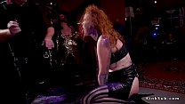 Rimming and fucking in bdsm orgy video