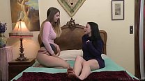 I wanted to try lesbian sex, but I was so shy! - Veruca James, Stella Cox