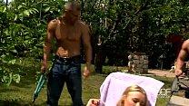 Russian blonde temptress performs a gorgeous double blowjob pornhub video