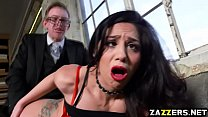 Danny D doggystyle fuck Julia De Lucia on the couch