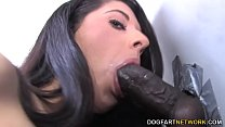 Teen Lily Anderson Inhales Her First Big Black Dick - Gloryhole