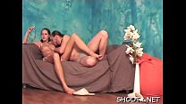 Hawt girlfriend lets her chap take total advantage over her