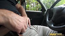 Fake Taxi He gets a rimjob from two tongues at the same time Preview