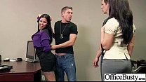 Hard Banged In Office A Real Slut Big Tits Girl (diamond kitty) video-19