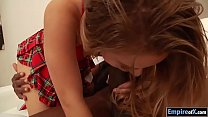 Tiny tits teen Lilly Ford wrecked by BBC Vorschaubild