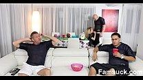 Teens Fucks Pervy Uncle During SuperBowl  |FamSuck.com Image