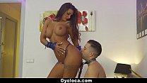 TeamSkeet- Sexy Latin Babe Seduces White Cock thumbnail