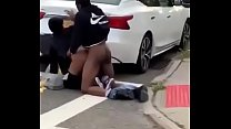 Freaky Couple Caught Wild N Out In NY