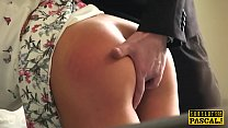 15297 Spanked british slut submitted into roughsex preview