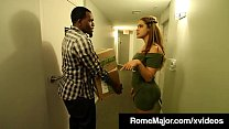 Black Knight Rome Major Fucks Latina Babe Miss Raquel! thumbnail