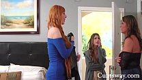 Mom Caught At The Motel Cheating & Blackmailed By Daughter - Elexis Monroe, Kristen Scott